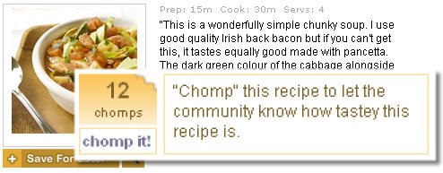 Chomp recipes